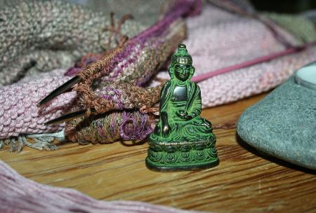 tricot zen - bouddha