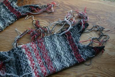 fils à rentrer du jacquard au tricot