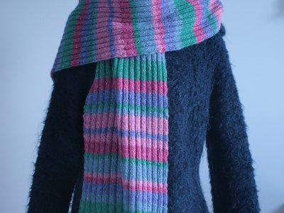 "écharpe Felted Tweed ""Poupinette"""