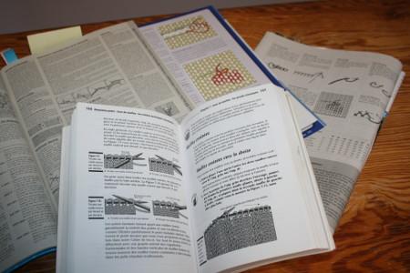livres avec des explications techniques