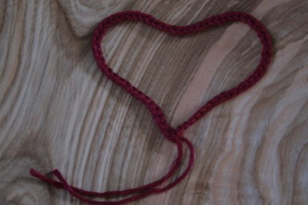 coeur en laine