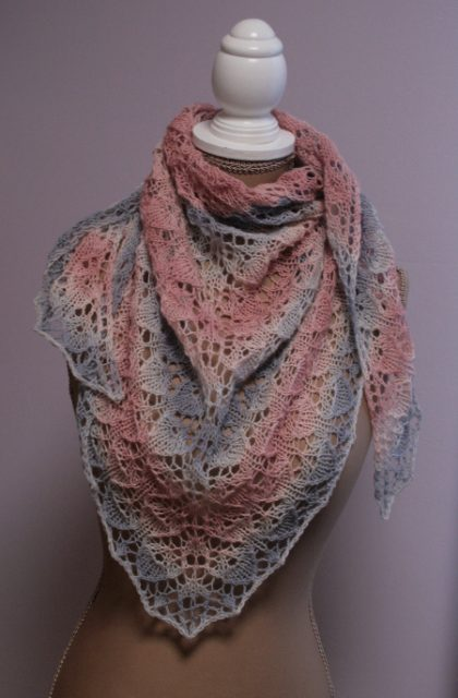 coquillage en Merino 285 Lace
