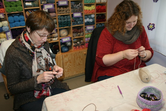 atelier initiation au tricot