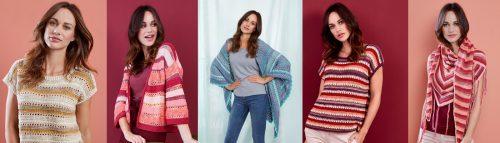 Modèles Mix and Knit été