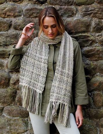 """écharpe au crochet """"Florence"""" de Lisa Richardson"""