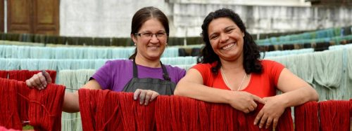Manos del Uruguay, des femmes au travail