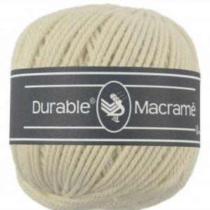 Macramé Coloris crème