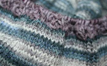 détail du tricot - Corsica et Catania Denim