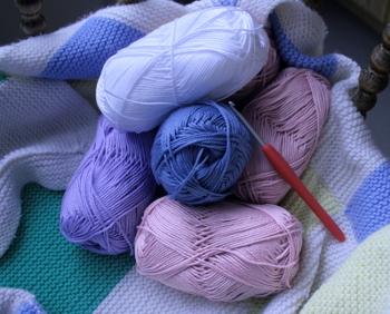 pelotes de Catania et crochet