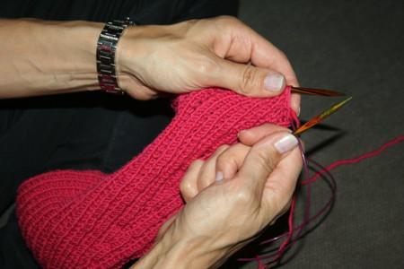 mon tricot en main