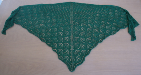 tricot dentelle - alegria vert