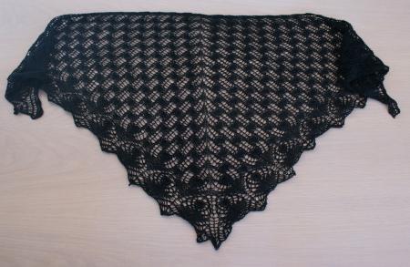 tricot dentelle nano oya noir