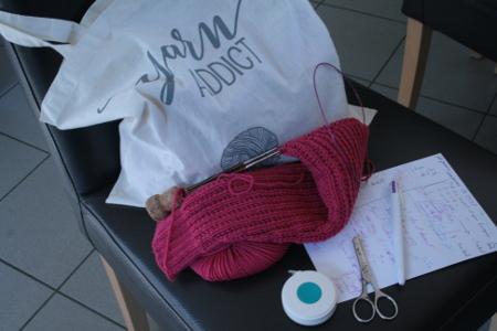nécessaire pour tricot nomade