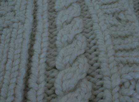 torsade simple en gros fil